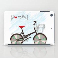 I {❤} My Bike iPad Case
