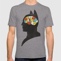 Bat Phrenology Mens Fitted Tee Tri-Grey SMALL