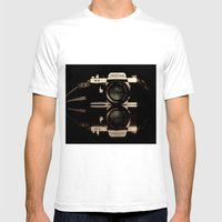 Pentax Mens Fitted Tee White SMALL