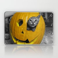 Halloween-Figgy Cat Laptop & iPad Skin