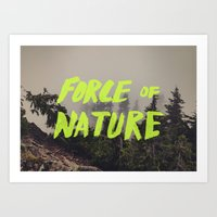 Force Of Nature X Cloud … Art Print