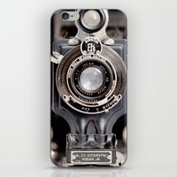 67-6 VINTAGE CAMERA COLL… iPhone & iPod Skin