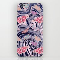 MARBELLOUS BUTTERFLIES iPhone & iPod Skin
