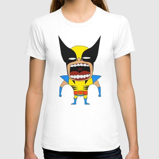 Screaming Wolverine T-shirt
