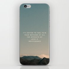 Stubborn Love iPhone & iPod Skin