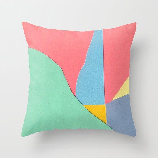 Land Three  Throw Pillow