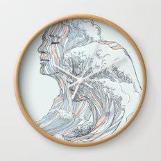BREATHE DEEPLY Wall Clock