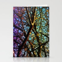 Colourful Tree Stationery Cards
