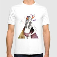 Unconscious Collective Mens Fitted Tee White SMALL