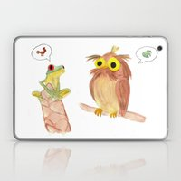 The story of the Chicken Frog Laptop & iPad Skin