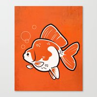 Ryukin Goldfish Canvas Print