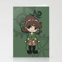 Steampunk Sailor Jupiter Stationery Cards