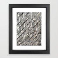 Slatisfaction Framed Art Print