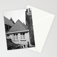 · My home...· Analogical Photography Black & White Stationery Cards