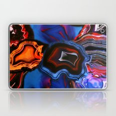 Agate, What springs from Earth dissolves to Earth again Laptop & iPad Skin