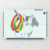 unicorn game iPad Case