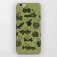 Critter Cars iPhone & iPod Skin