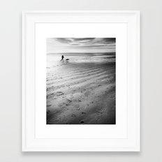 Traces  Framed Art Print