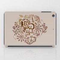 Be You Tiful (gold Editi… iPad Case