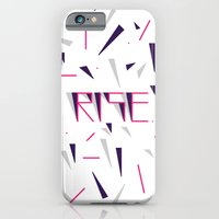 Rise No.2 - White iPhone 6 Slim Case