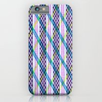 iPhone & iPod Case featuring Isometric Harlequin #2 by KATE KOSEK