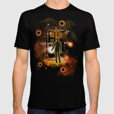 welcome home number 12 SMALL Black Mens Fitted Tee