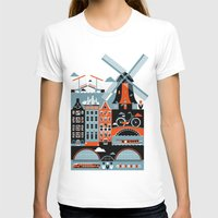 city T-shirts featuring Amsterdam by koivo
