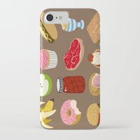 food iPhone & iPod Cases featuring Food by John Holcroft