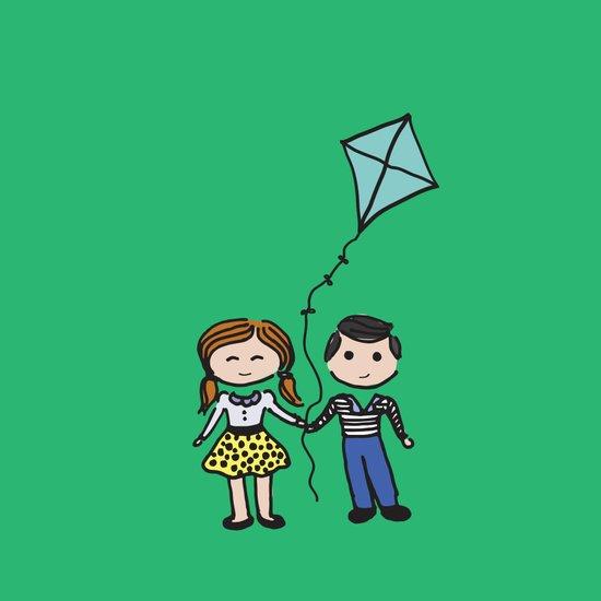 Fly a Kite Art Print