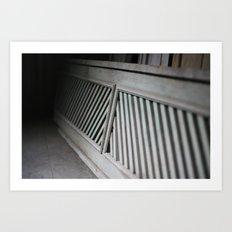 woodwork Art Print