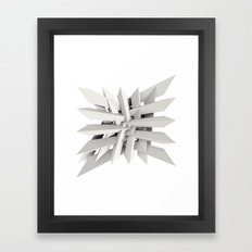 Uxitol (Struggle) Framed Art Print