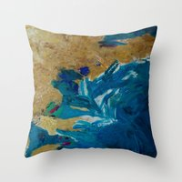Lakeshore Limited Throw Pillow