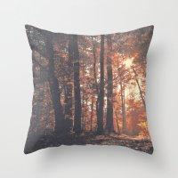 Precious Autumn Throw Pillow