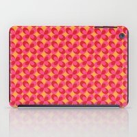 Retro floral pink iPad Case
