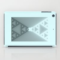 Triangles Glow iPad Case