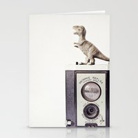 The Dinosaur And The Bro… Stationery Cards