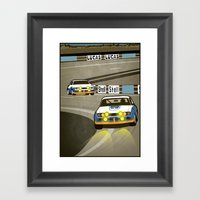 Capri at Le Mans Framed Art Print