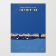 No686-1 My Godfather I minimal movie poster Canvas Print