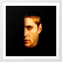 Dean Winchester / Supernatural - Painting Style Art Print