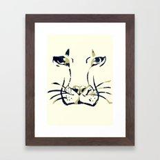 King of Beasts Framed Art Print