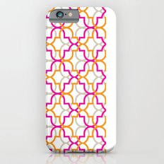 Moroccan Trellis Overlaps Slim Case iPhone 6s
