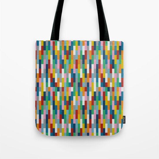 Bricks Rotate #2 Tote Bag