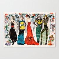 Christmas Alegria  Canvas Print