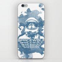 Spacewolf iPhone & iPod Skin