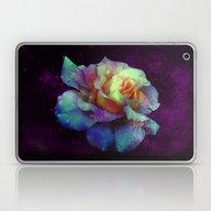 Purple Kissed Rose Laptop & iPad Skin