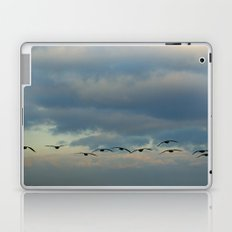 Flying Silhouettes Laptop & iPad Skin