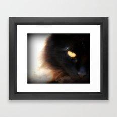 Eye of Ink Framed Art Print