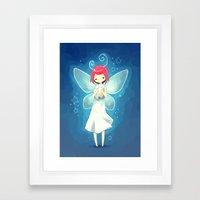 Tooth Fairy Framed Art Print