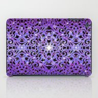 Floral Abstract Backgrou… iPad Case