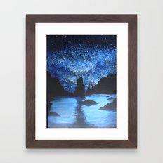 Starry Seas Framed Art Print